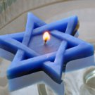 Star of David floating candles set of 8