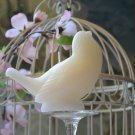 Ivory Song Bird Candle
