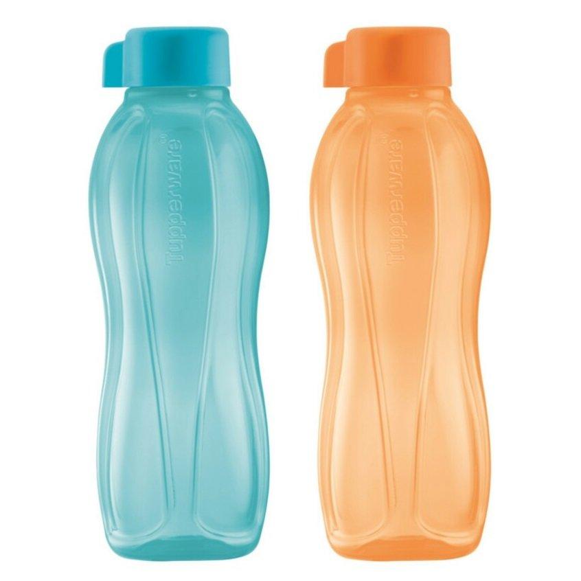 Tupperware Eco Bottle Drinking Bottle 500ML (Cool Aqua & Mango)