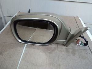 2002-2006 INFINITI M45 DRIVER LEFT SIDE  DOOR MIRROR  METALLIC GOLD 12 WIRES OEM