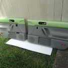VW Volkswagen Beetle Interior Door Panels Set LH & RH Green/Grey Power OEM