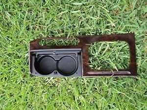 2001 HONDA ACCORD 4DR 2DR CENTER CONSOLE SHIFTER TRIM PANEL DUAL CUP HOLDER