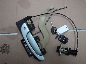 2002 JAGUAR S-TYPE  driver outside door handle and trunk lock cylinder with key