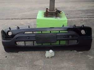 BMW X5 FRONT BUMPER COVER WITH PARKING ASSISTAN AND SENSORS ASSEMLY BLACK