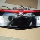 06 CADILLAC CTS TRUNK FINISH PANEL REVERSE LIGHT LICENSE PLATE THIRD BRAKE LIGHT