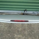 2006 SAAB 97X 9-7X  REAR SPOILER W/ 3RD BRAKE LIGHT SILVER