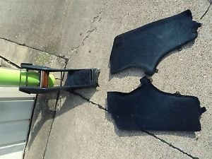 82 MERCEDES BENZ  560SL 380SL 2DR COUPE CENTER CONSOLE W/LH AND RH  PANEL BLUE