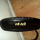 04 MAZDA RX-8 REAR VIEW MIRROR AUTO DIM W/HOME LINK