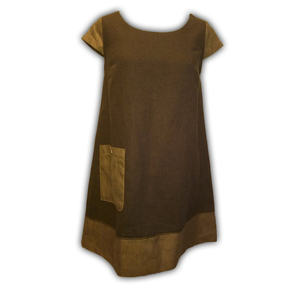 Brown Linen Tunic