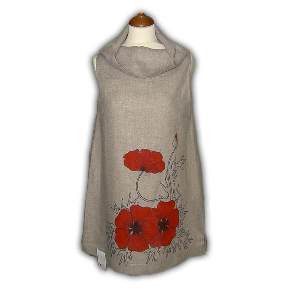 Artsy Linen Tunic
