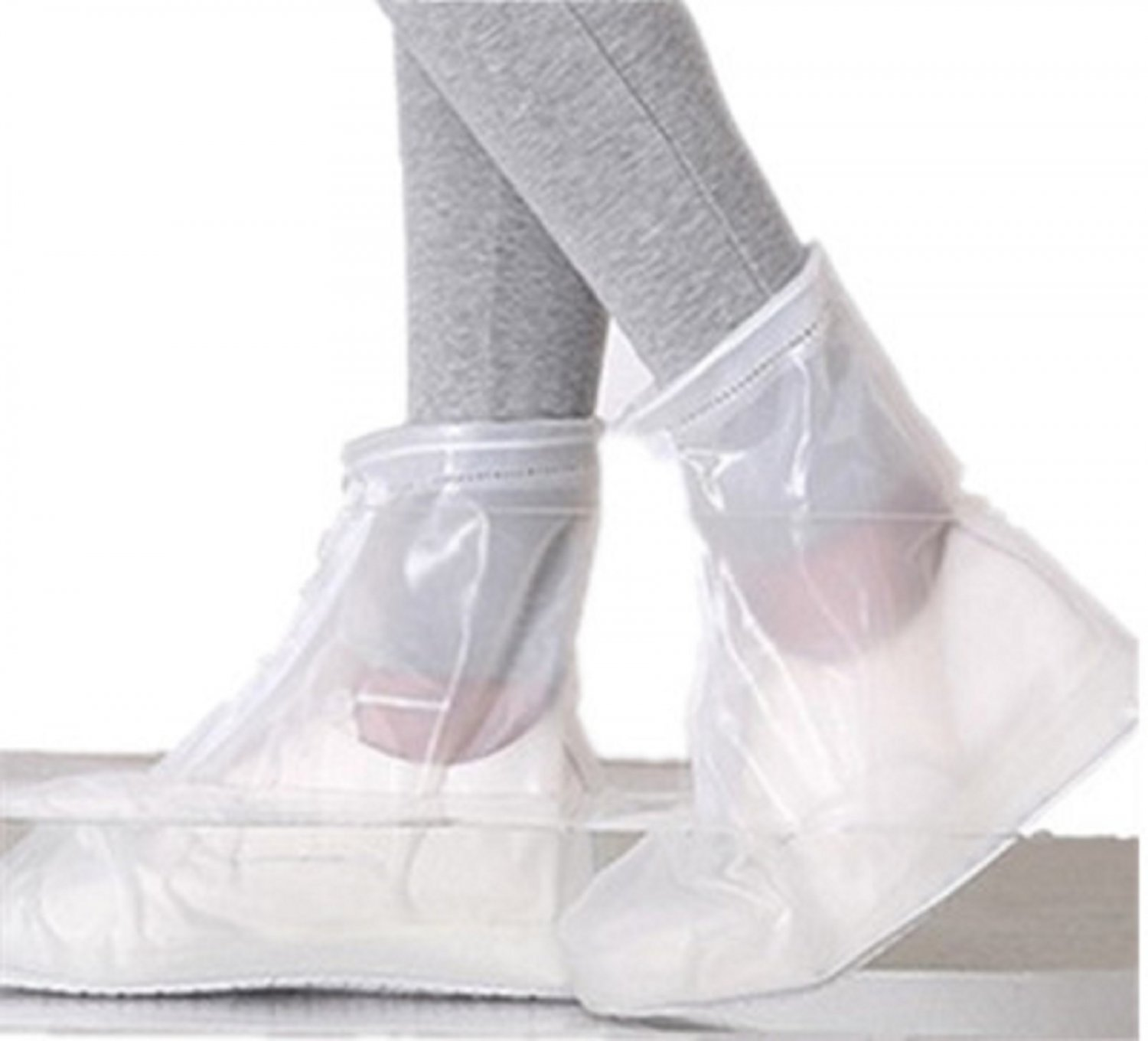 Newest Seamless Unisex Reusable Cycling Rain/Dust/Snow/Waterproof Shoe Covers
