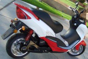 Electric scooter li-ion LiFePO4 50 mph