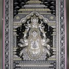 Vibhuti: Ganesha & Laxmi Sitting under a Canopy