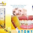Atomy Toothpaste Propolis and Green Tea Extract Oral Care 200grams-1pc
