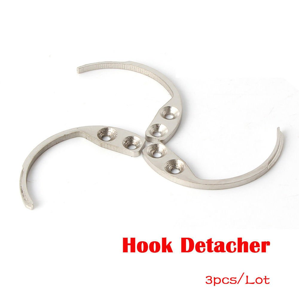 Detacher Hook Key Security Tag Remover Used For EAS Hard Tag release-3pcs
