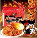 1, 2, 3, 4,5 pks Samyang 2X Spicy Hot Chicken Korean Ramen Fire Noodle Challenge