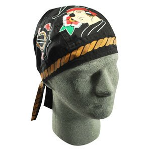 Flydanna®, 100% Cotton, Pirate Girl