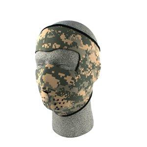 Full Mask, Neoprene, U.s. Army, Digital Acu Camo