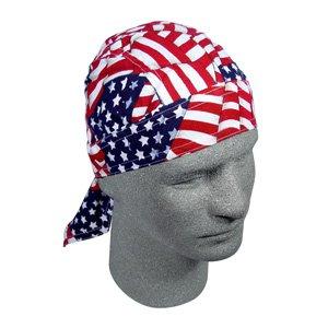 Flydanna®, Cotton, Wavy American Flag