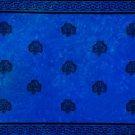 Celtic Sarong, Shamrock Trinity Blue