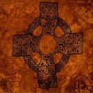 Celtic Sarong, Celtic Cross 1 Orange