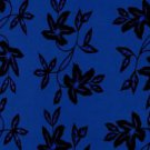 Passion Fruit Floral Sarong Cool Blue