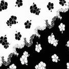 Hibiscus Sarong Black / White - Hi-34