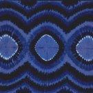 Tie Dye Sarong Tri Dye 3 Navy Blues