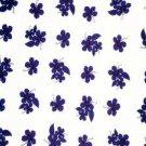 Hibiscus Sarong Blue / White Hi-40