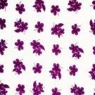 Hibiscus Sarong Purple / White Hi-41