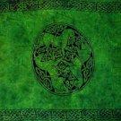 Celtic Sarong, Horses Emerald Green