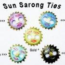 Sun Sarong Ties