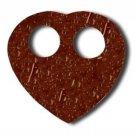 Coconut Sarong Ties - Heart