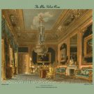 Blue Velvet Room - Carlton House - 20x30 Gallery Wrapped Canvas Print
