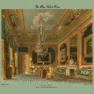 Blue Velvet Room - Carlton House - 16x24 Giclee Fine Art Print Framed In Black (20x30 Finished)