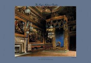 Kings Audience Chamber - Windsor Castle - 12x18 Framed Print In Black Frame (17x23 Finished)