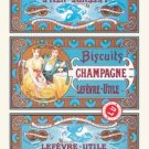 Biscuits Champagne - 20x30 Gallery Wrapped Canvas Print