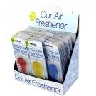 Fish Bone Car Air Freshener Display (case Of 36)