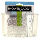 Transparent Shower Caddy With Suction Cups (case Of 144)
