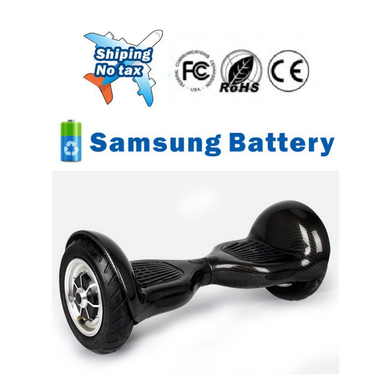 10 inch Two Wheels Hoverboard Smart Self Balancing scooter Black