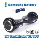 Self Balancing 2 Wheels Hover Board Electric Scooter Skateboard Black