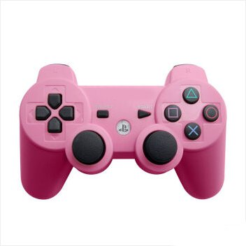 Dualshock 3 Wireless PS3 Controller for Sony PS3 Pink