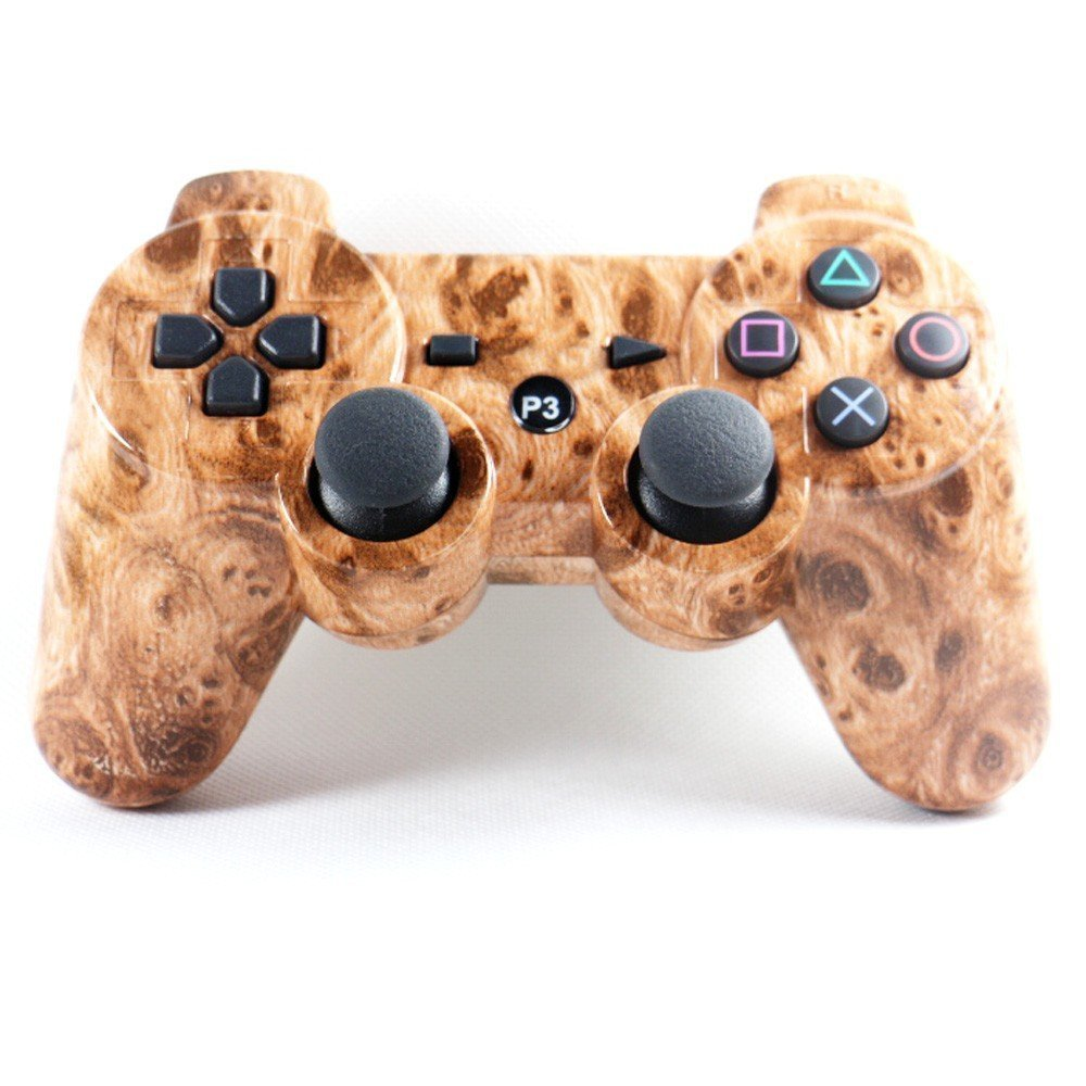 Wireless Bluetooth Double Vibration Gamepad for PS3 - Lasherweave