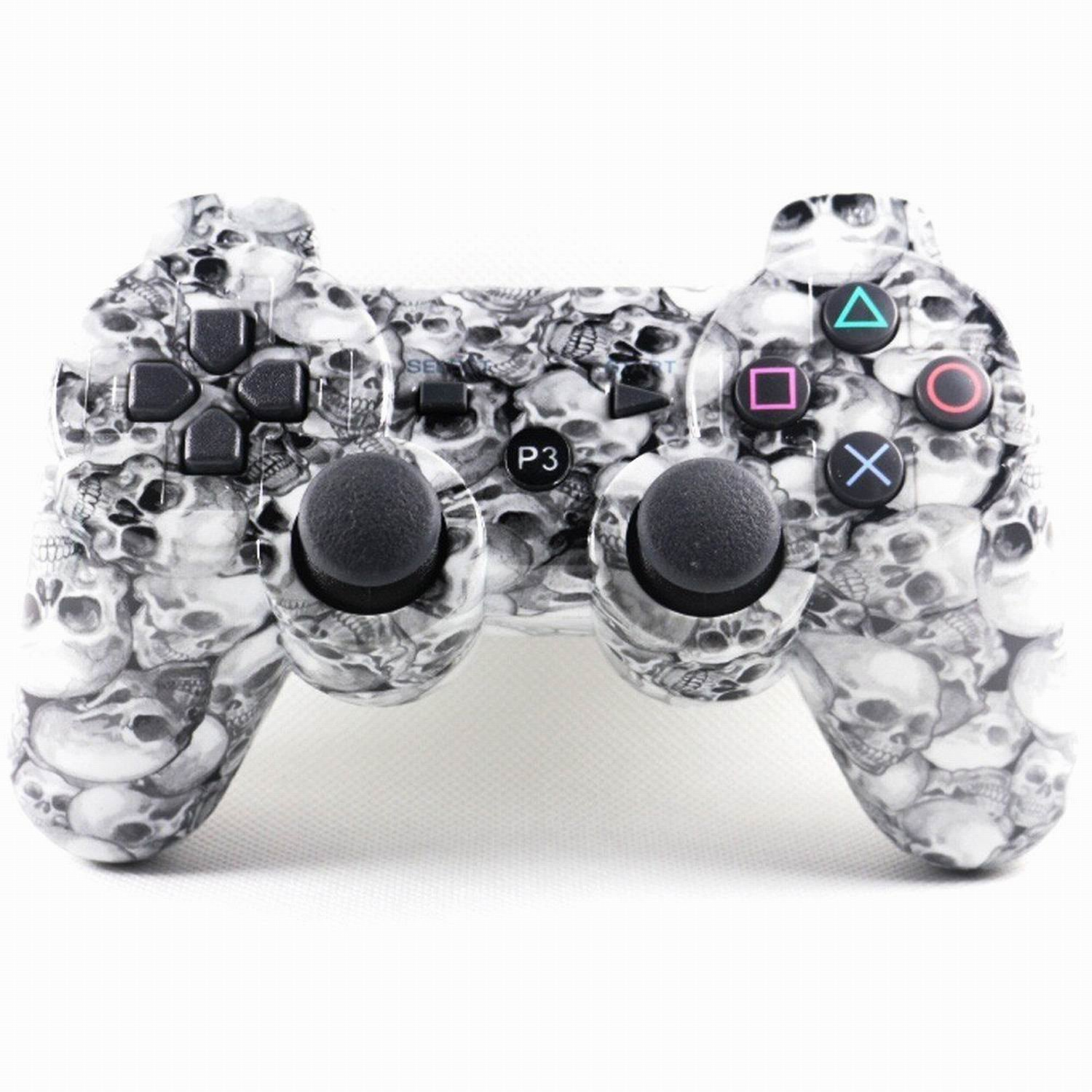 Dualshock 3 Wireless PS3 Controller for Sony PS3 - Skull Pattern
