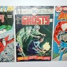 3 70'S AND 80'S ERA DC GHOSTS, DEADMAN AND SPECTRE