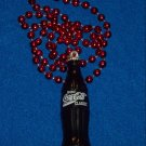 DAZZLING AND STUNNING AUTHENTIC NEW ORLEANS MARDI GRAS COCA-COLA BOTTLE BEAD