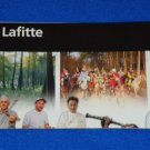 BRAND NEW JEAN LAFITTE NATIONAL HISTORICAL PARK AND PRESERVE LOUISIANA BROCHURE