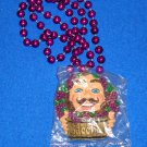 AWESOME KREWE OF BACCHUS AUTHENTIC NEW ORLEANS MARDI GRAS BEAD *FACTORY SEALED*