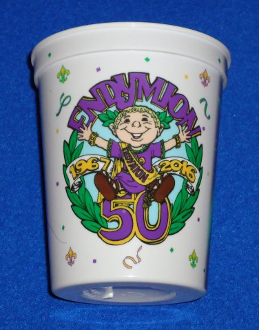 """SPECIAL KREWE OF ENDYMION """"50TH ANNIVERSARY"""" 2016 MARDI GRAS CUP SOUVENIR PARTY"""