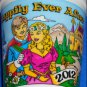 BEAUTIFUL HAPPILY EVER AFTER NEW ORLEANS MARDI GRAS CUP PRINCE PRINCESS CASTLE